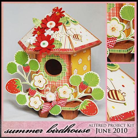 Summerbirdhousekit (Small)