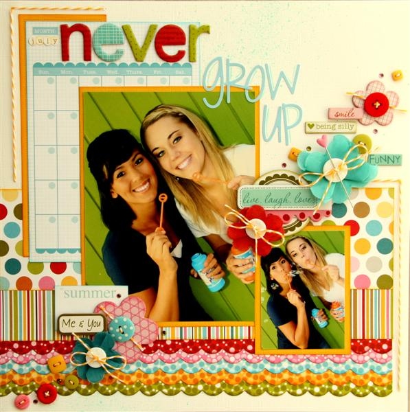 Never grow up layout (Medium)