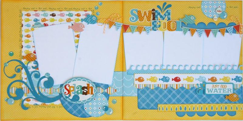 Summer Splash layout (Small)