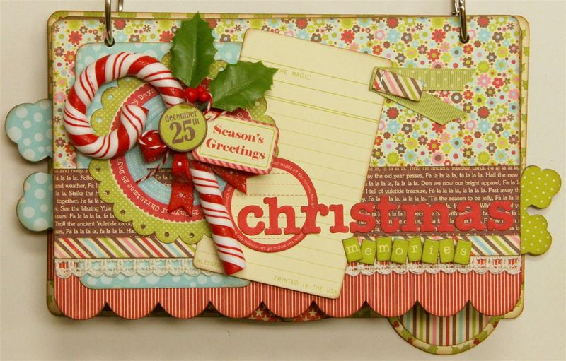 Christmas Memories mini album (Medium)