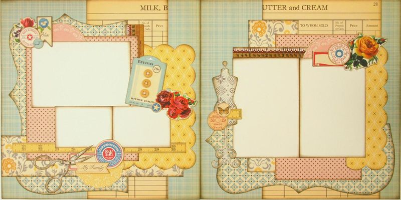 Farmhouse 2 page layout (Medium)