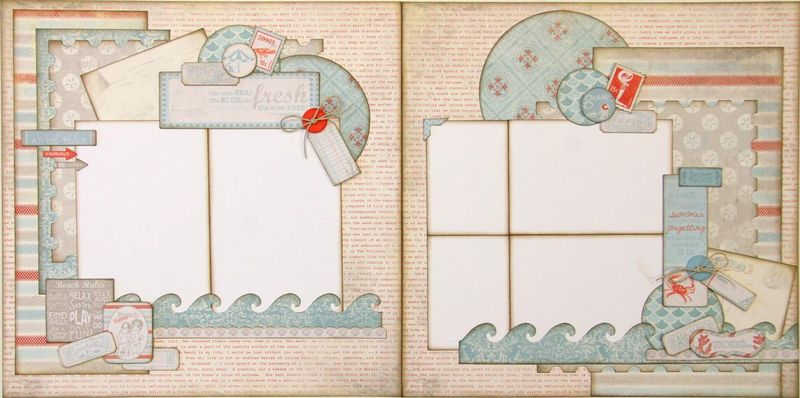 By the sea 2 page layout (Medium)
