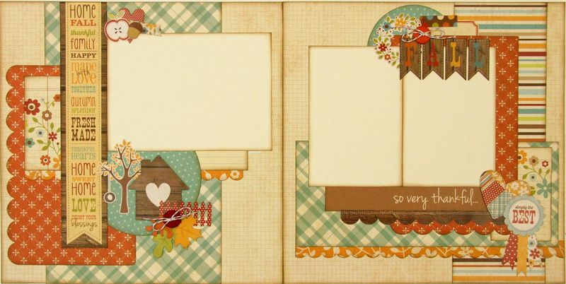 Harvest Lane 2 page layout (Medium)