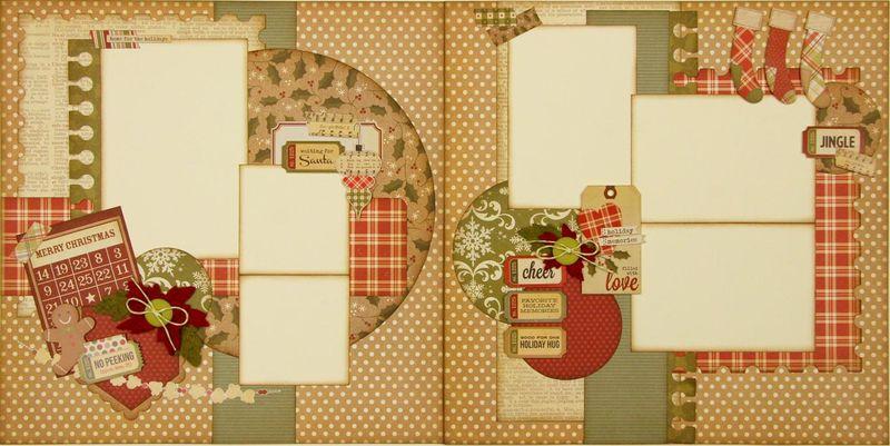 Handmade holidays 2 page layout (Medium)
