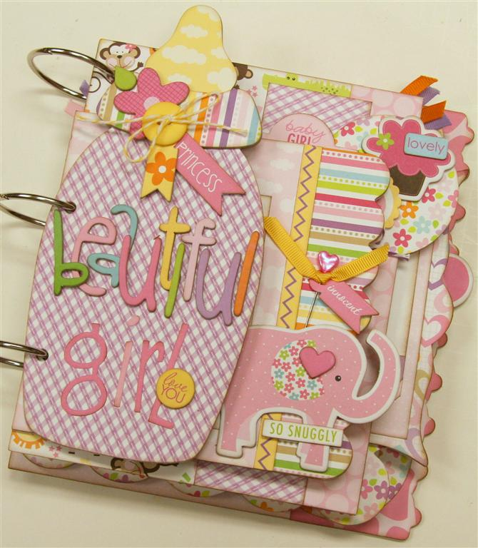 Bella Blvd. Baby Girl mini album (Medium)