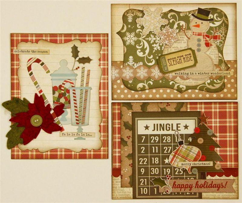 Handmade Holidays 3 cards (Medium)