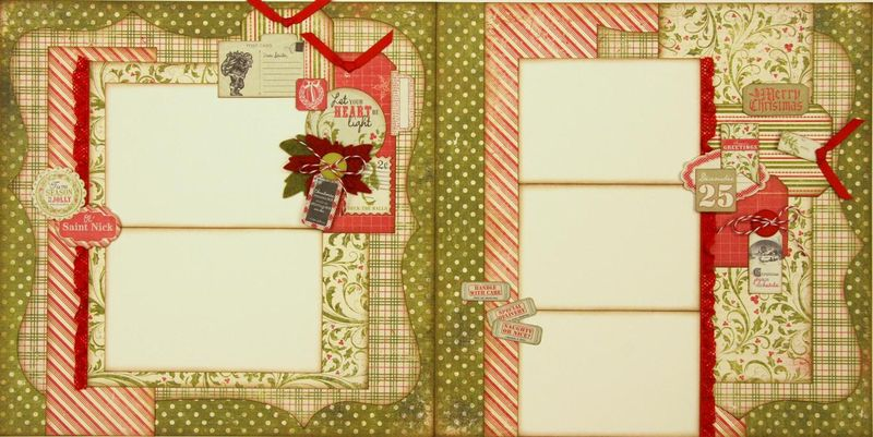 Home for the holidays 2 page layout (Medium)