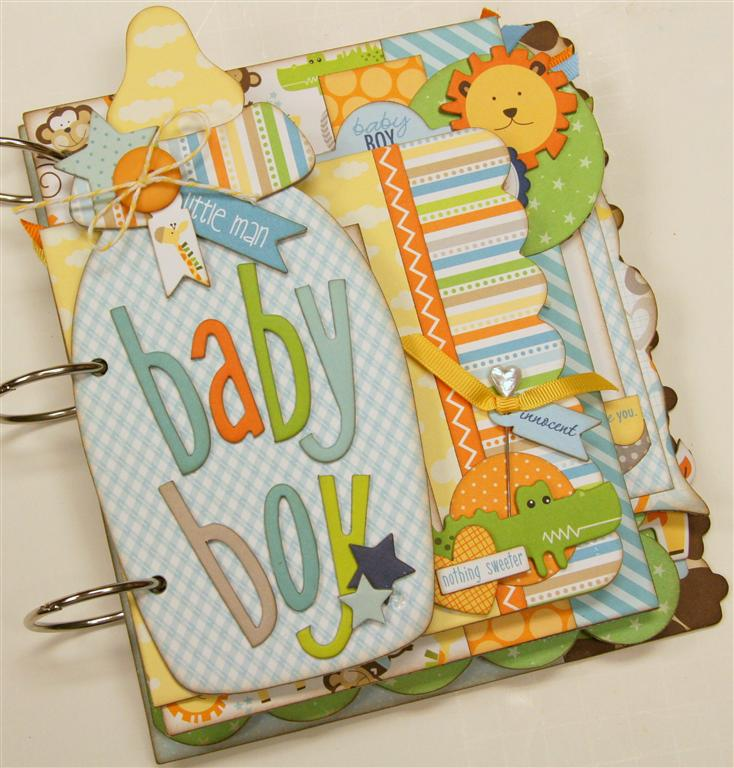 Bella Blvd. Baby Boy mini album (Medium)