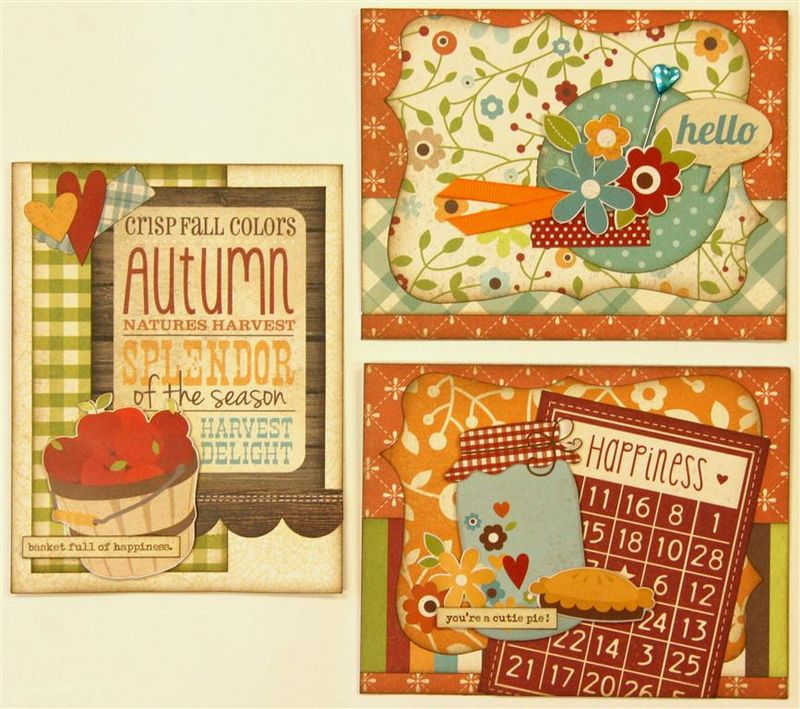 Harvest Lane cards (Medium)