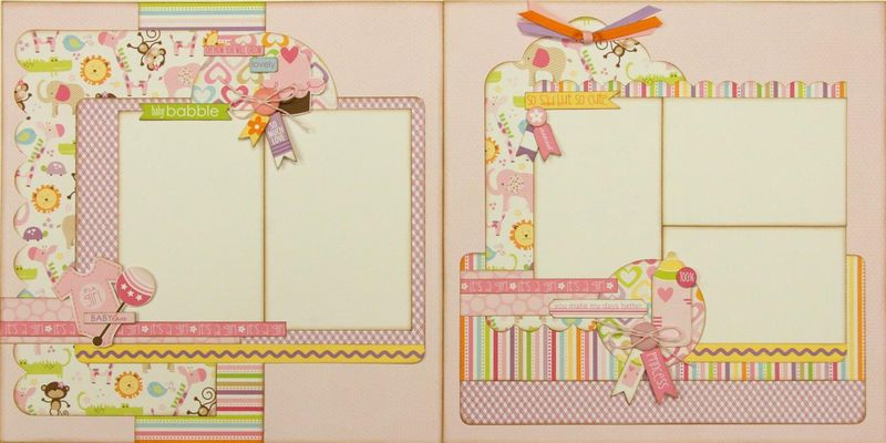 Bella Blvd. Baby Girl layout (Medium)