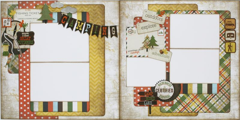 Camper 2 page layout