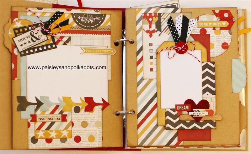 Say Cheese Smash Book tabbed pagesW (Medium)