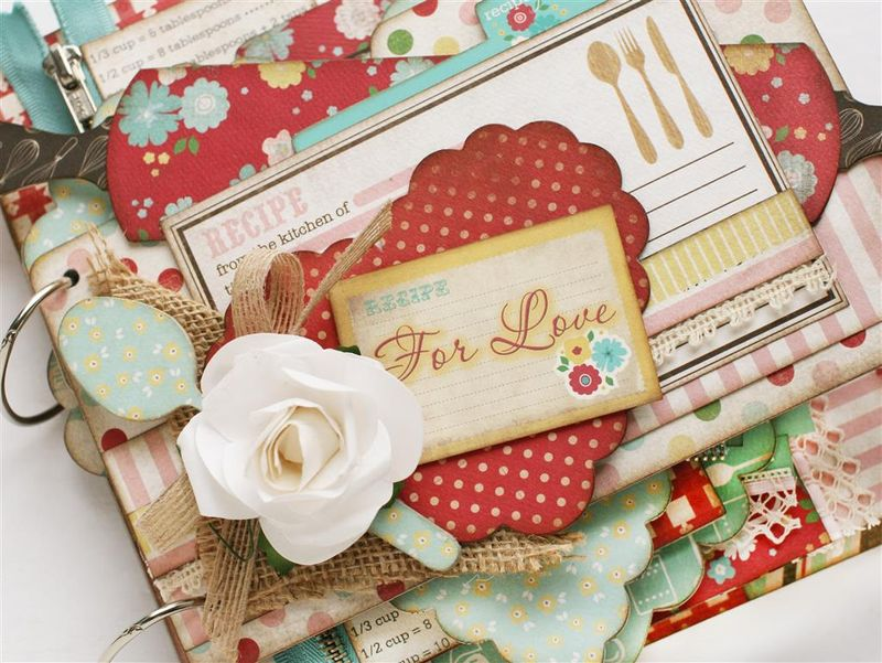 Recipe for love mini album close up (Medium)