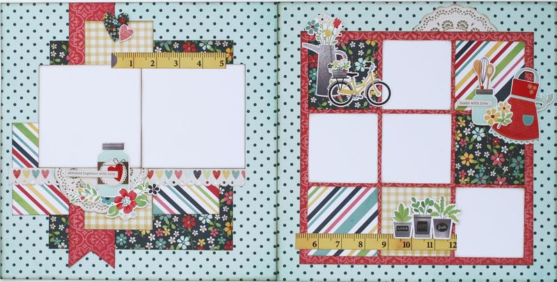 Homespun 2 page layout (Medium)