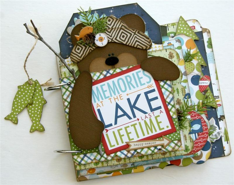 Outdoor Memories Mini Album (Medium)