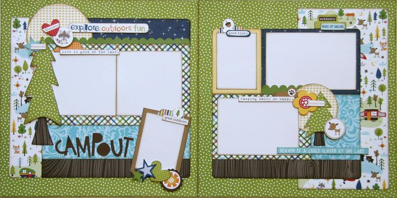 Campout two page layout (Medium)