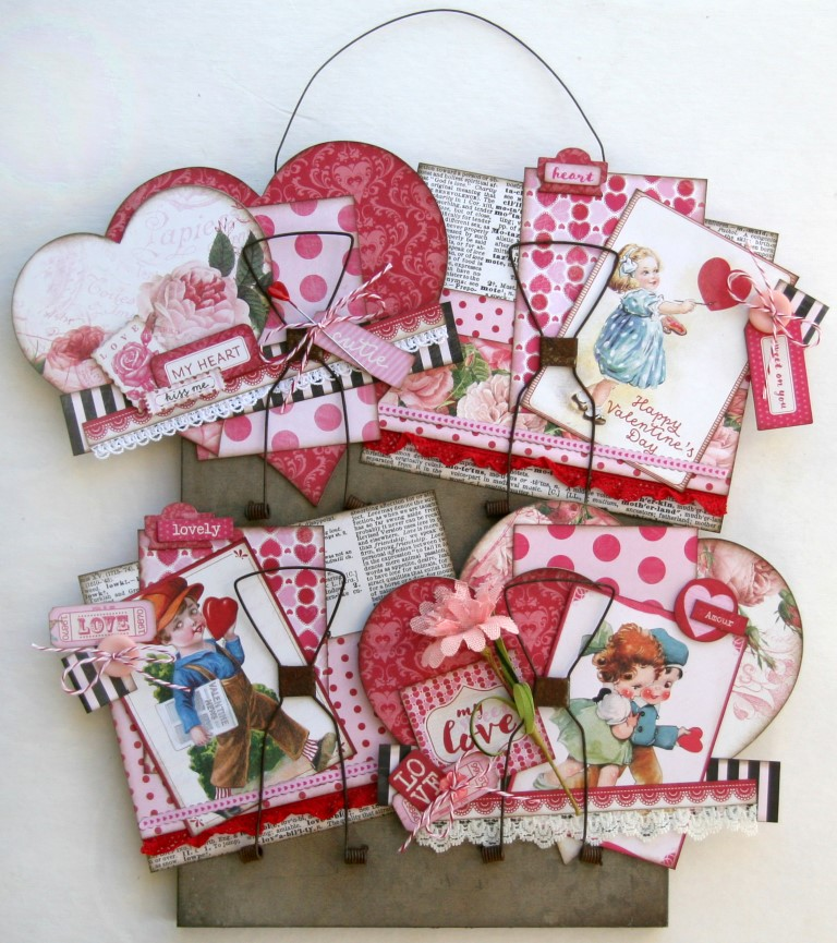 Love Altered Receipt Holder 1 (Medium)