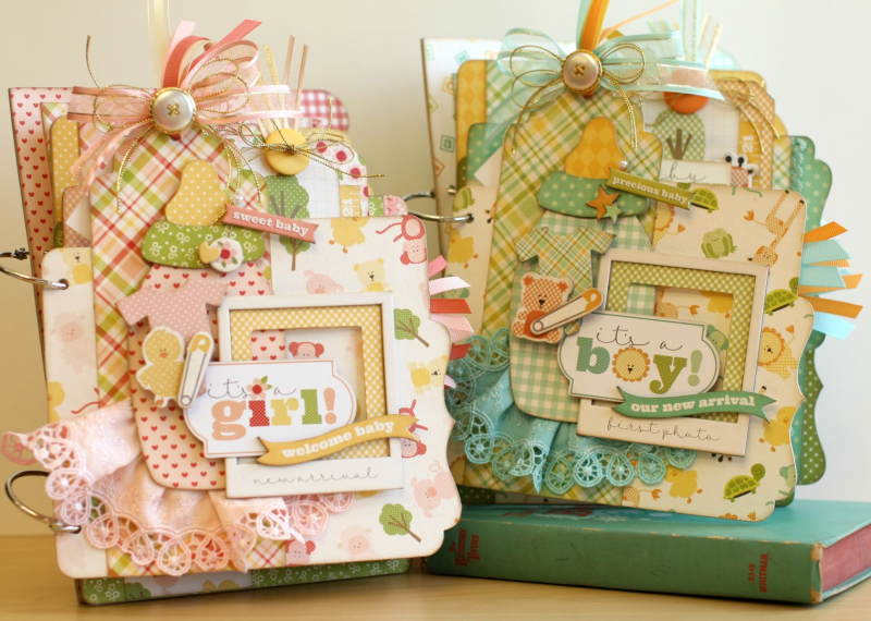 Welcome baby mini albums (Large)