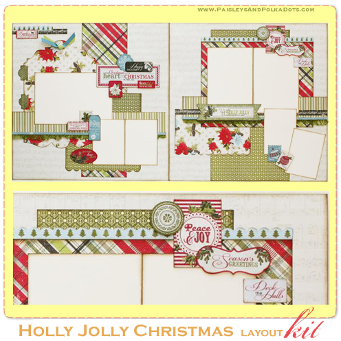Holly Jolly layout gallery imaget