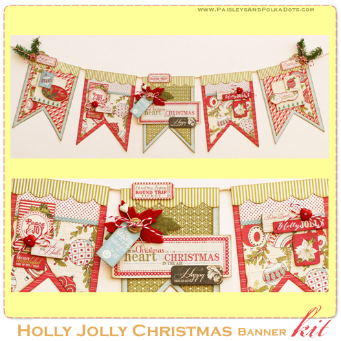 Holly Jolly Banner kit