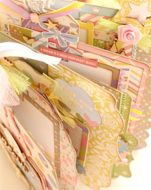 Enchanted Princess mini album inside pages 1 (Medium)