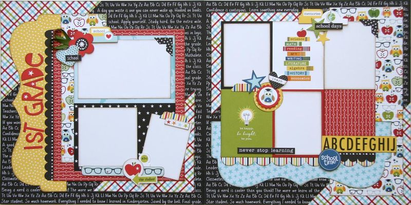 Star Student two page layout (Medium)