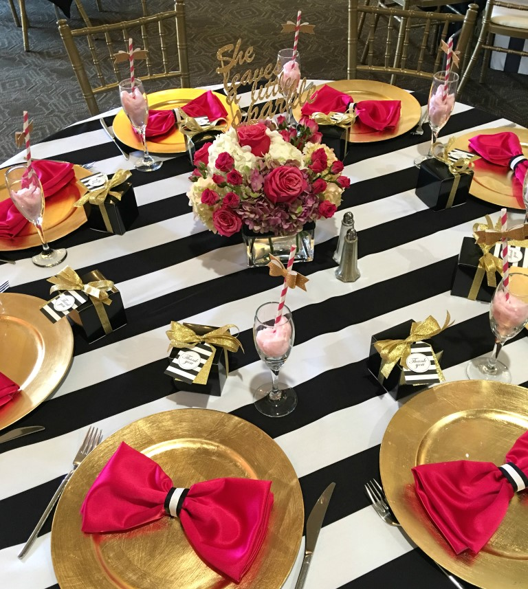 PaisleysandPolkaDots Kate Spade Themed Party Ideas