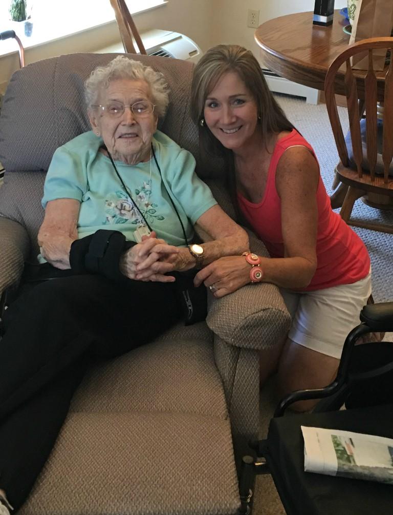 Me & grandma (Medium)